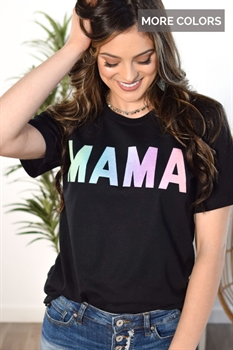 Picture of Mama Gradient Graphic Tee