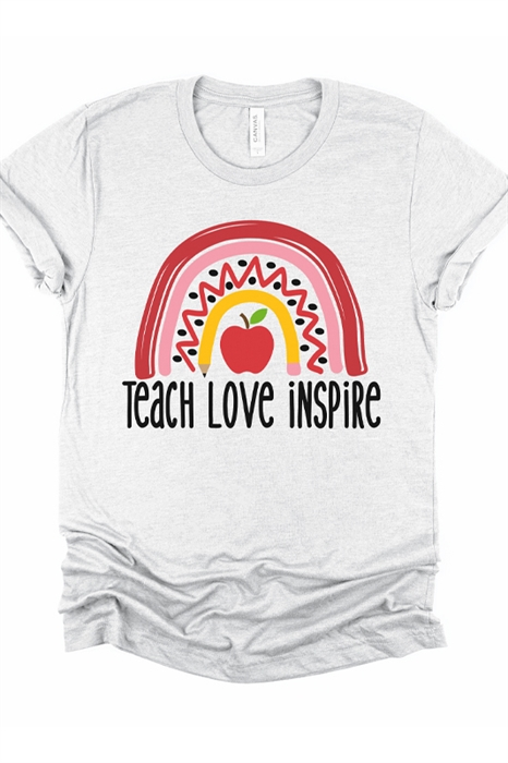 Picture of Teach Love Inspire Graphic Tee