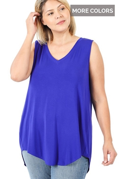 Picture of Darla V-Neck Sleeveless Top