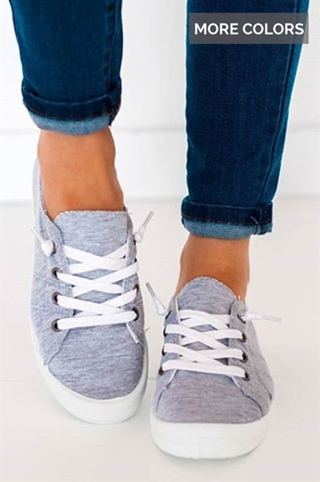 Picture of Annalise Tie Up Sneakers
