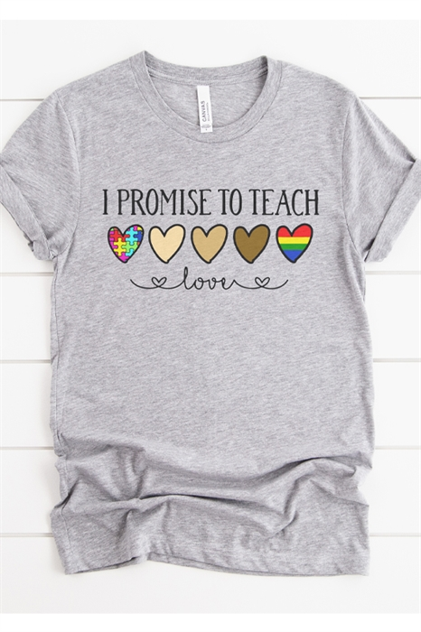 Picture of Teach Love Graphic Tee