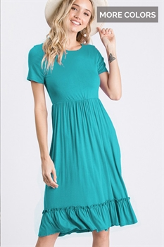 Picture of Ruffle Bottom Dress